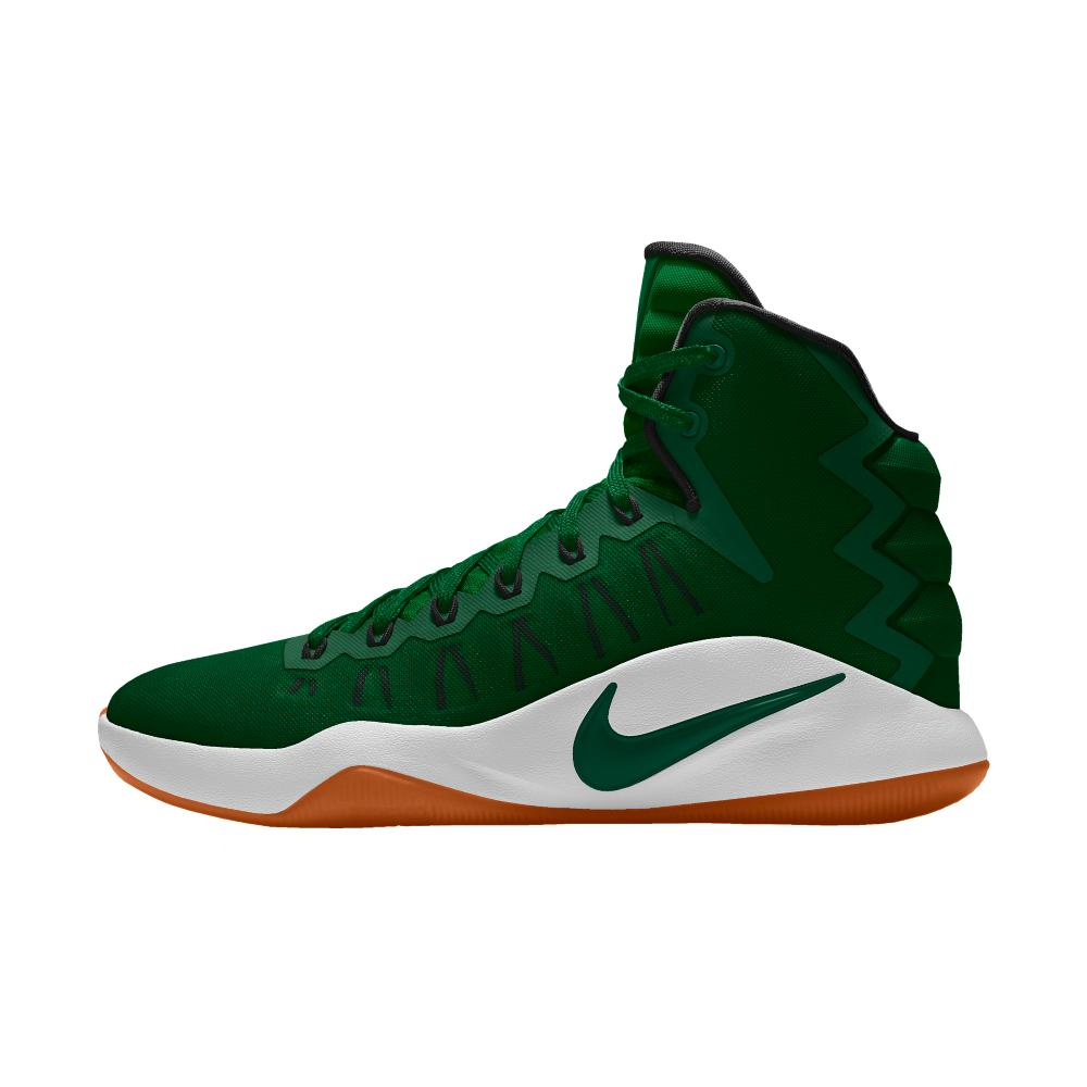 Nike Hyperdunk 2016 Id Men's Basketball Shoe in Green for ...