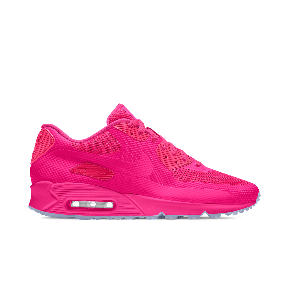 nike air max 90 hyp premium id women 39 s shoe in pink lyst. Black Bedroom Furniture Sets. Home Design Ideas