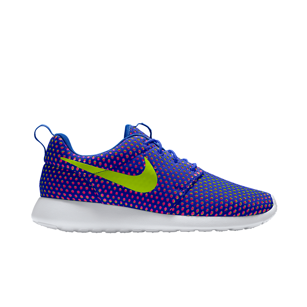 nike roshe one id s shoe in purple lyst