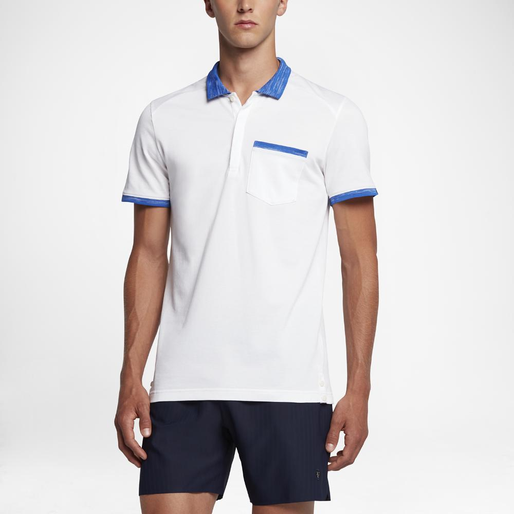 ae136f21 Lyst - Nike Nikecourt X Rf Knit Men's Polo Shirt in White for Men