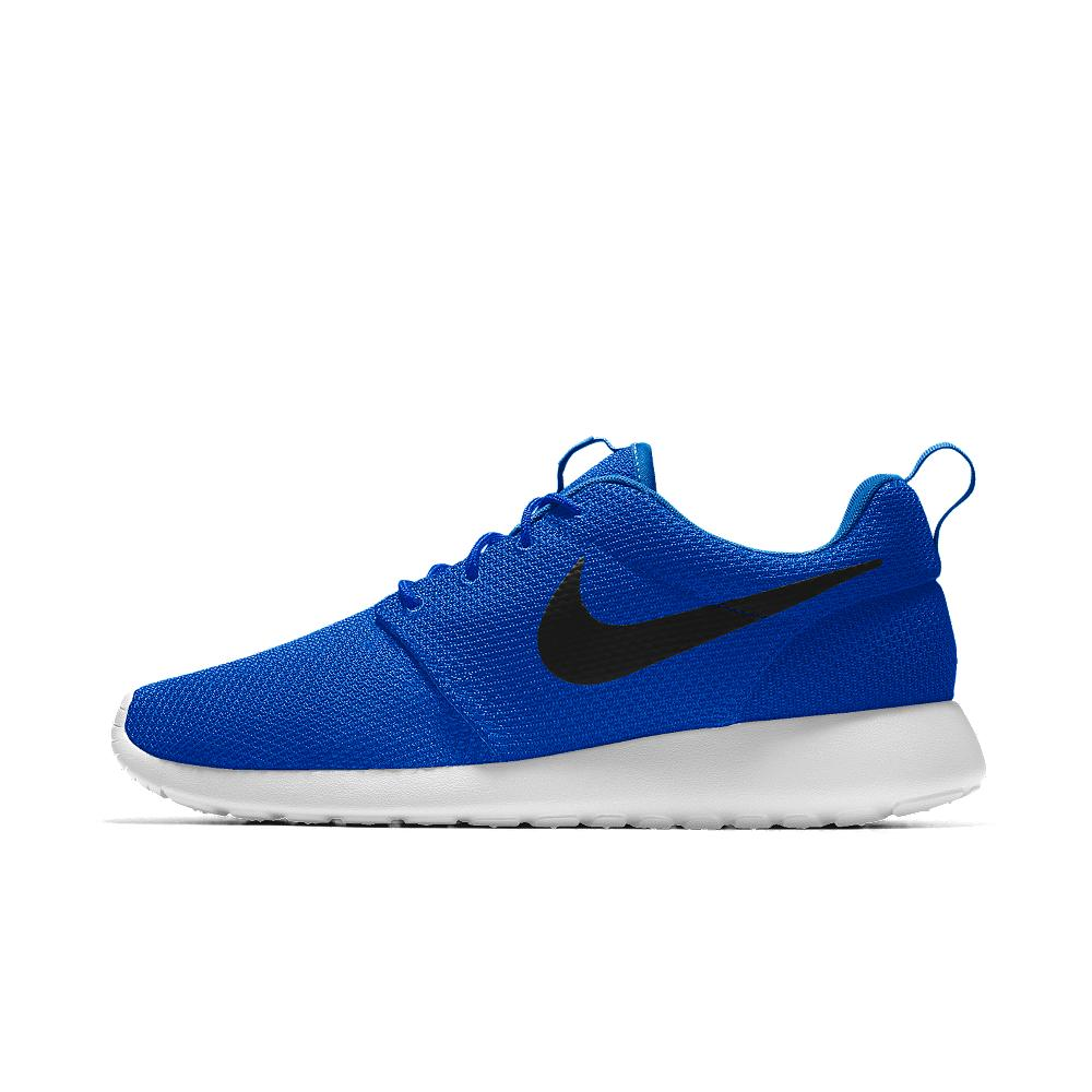 nike roshe one essential id s shoe in blue for lyst