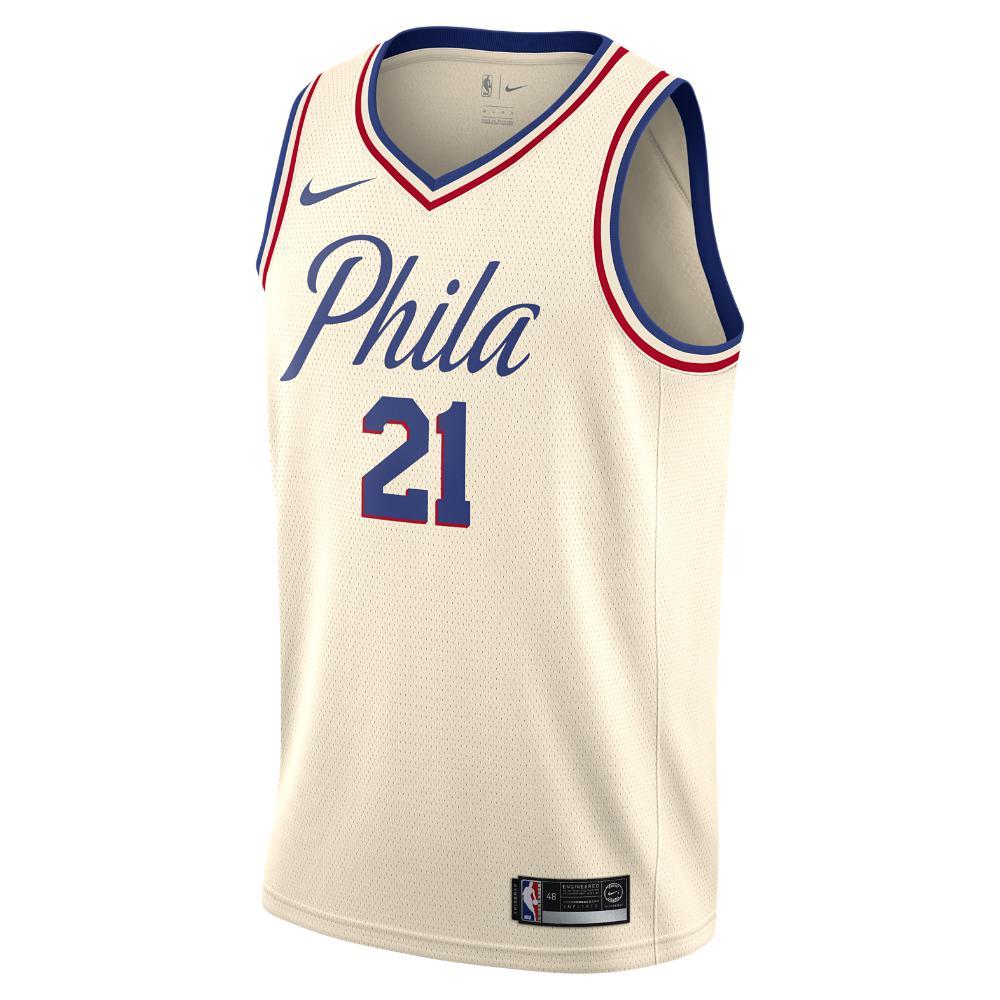 b9acfd647 Nike Joel Embiid City Edition Swingman Jersey (philadelphia 76ers ...