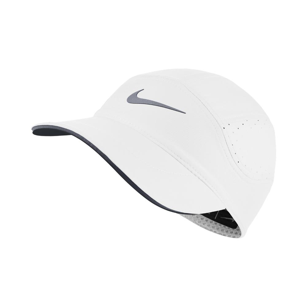 0edd509a2a3 Lyst - Nike Aerobill Women s Running Hat (white) in White - Save 3%