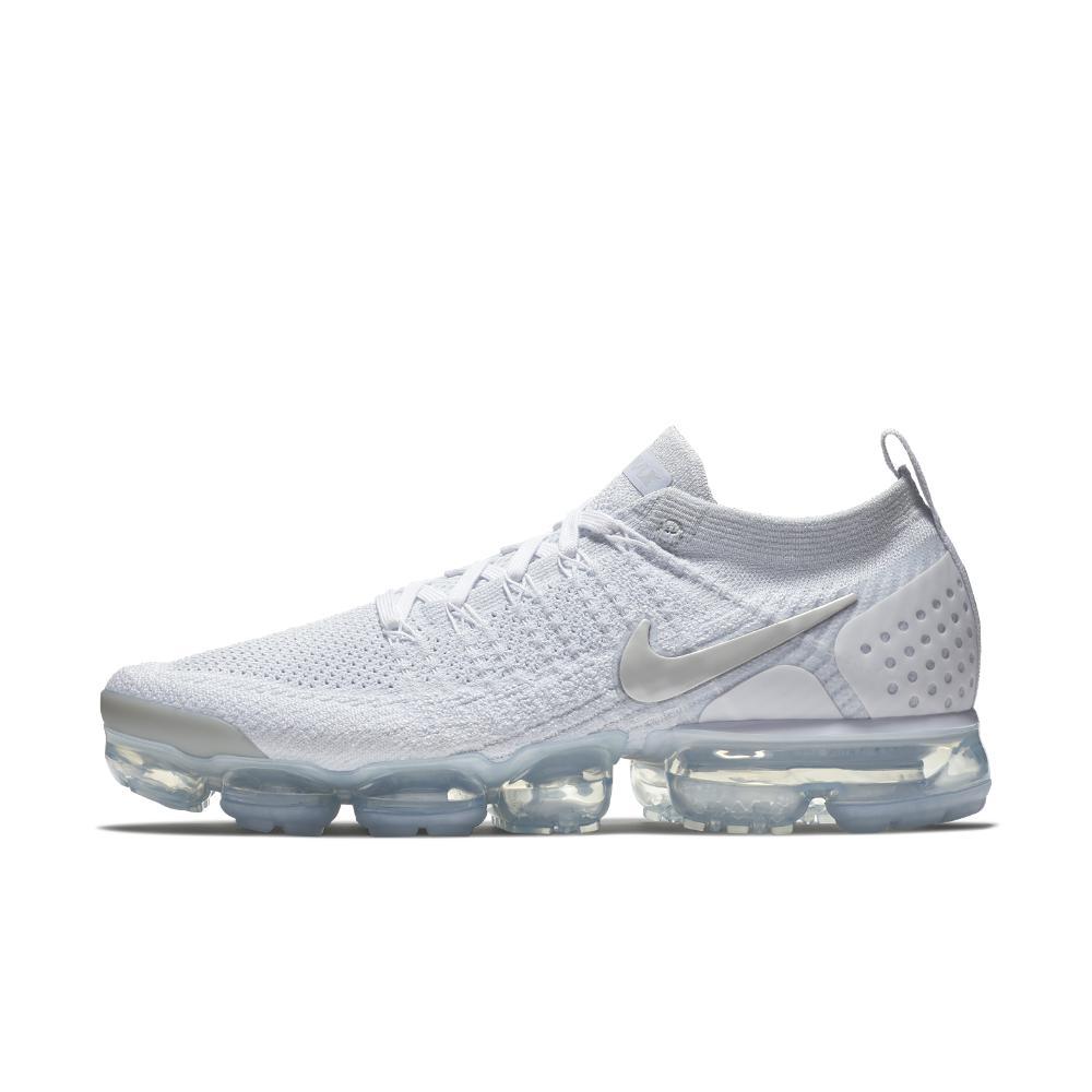 Lyst - Nike Air Vapormax Flyknit 2 Men s Running Shoe in Gray for Men cbcdc3153