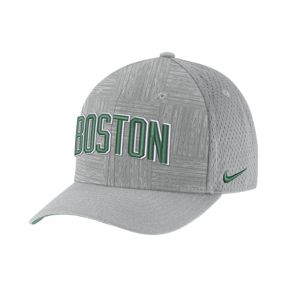 on sale 3d652 850bf Nike Boston Celtics City Edition Classic99 Nba Hat (silver) in ...