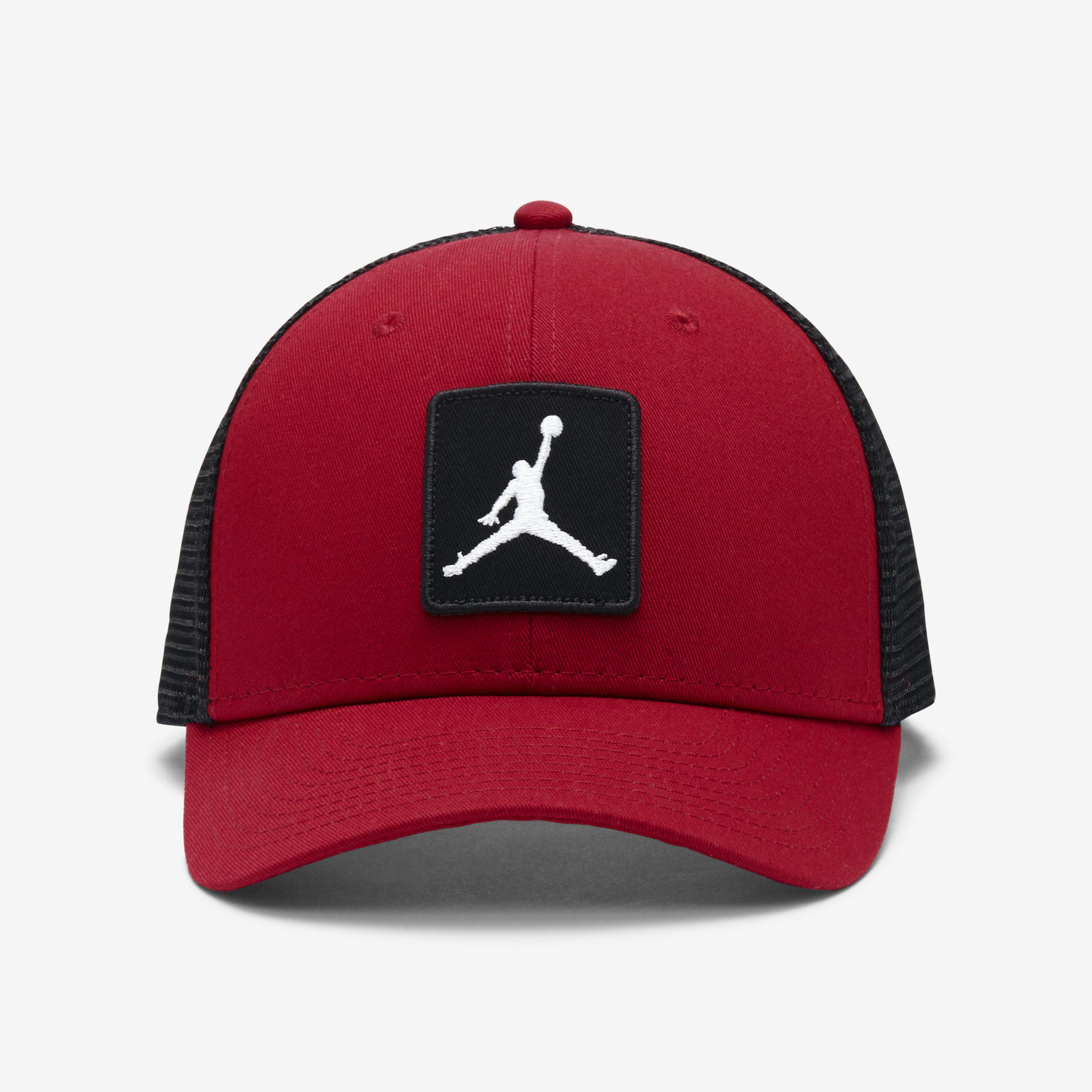 27cd031b0de Nike Jordan Jumpman Classic99 Trucker Adjustable Hat in Red for Men ...