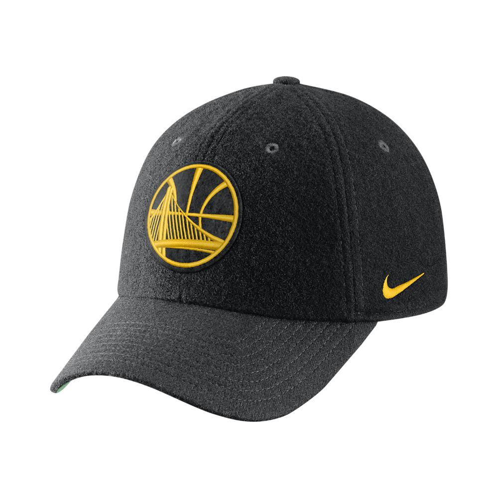 0414a8b39 Lyst - Nike Golden State Warriors Heritage86 Nba Hat (black) in ...