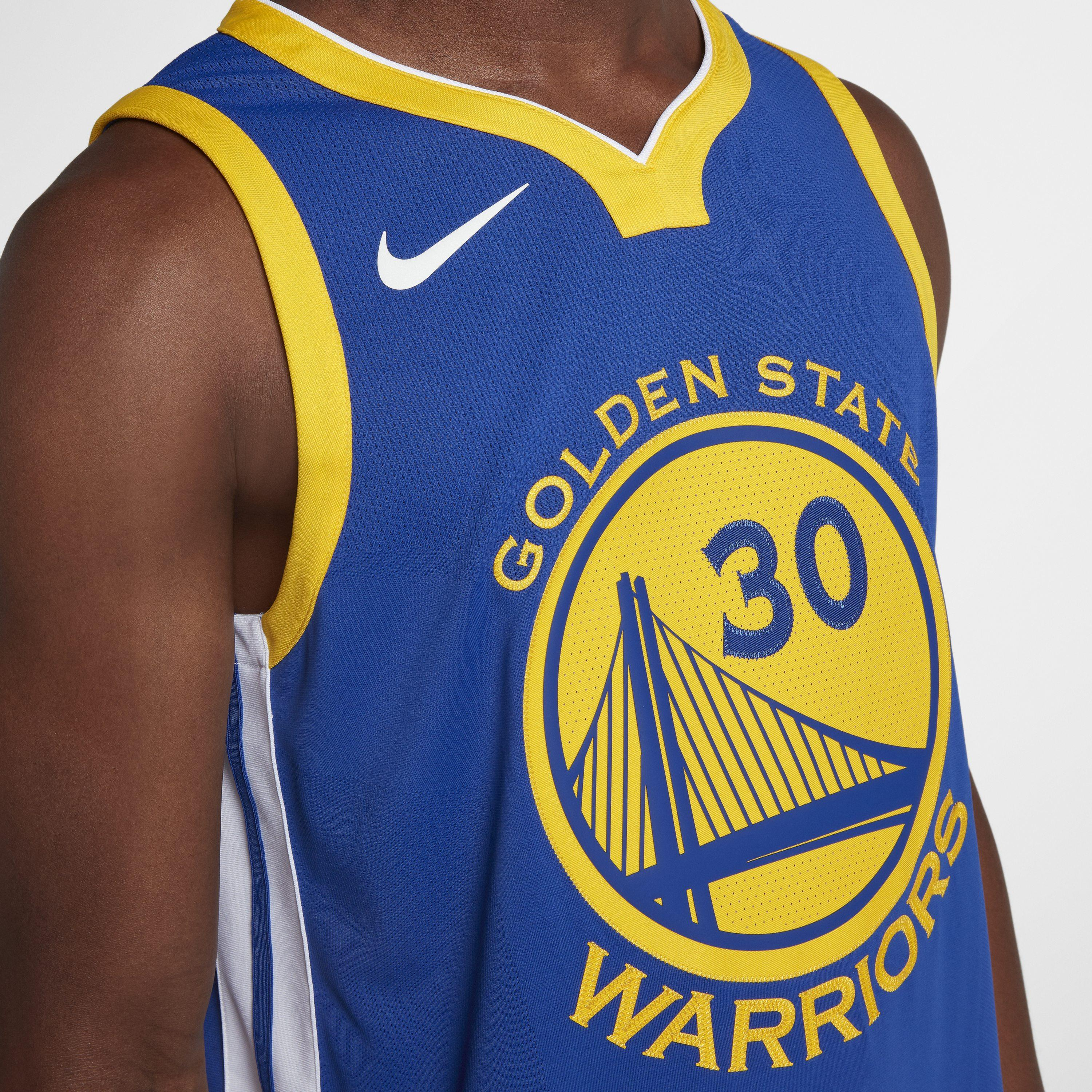 dad0d082dce5 Nike - Blue Stephen Curry Icon Edition Authentic Jersey (golden State  Warriors) Men s Nba. View fullscreen