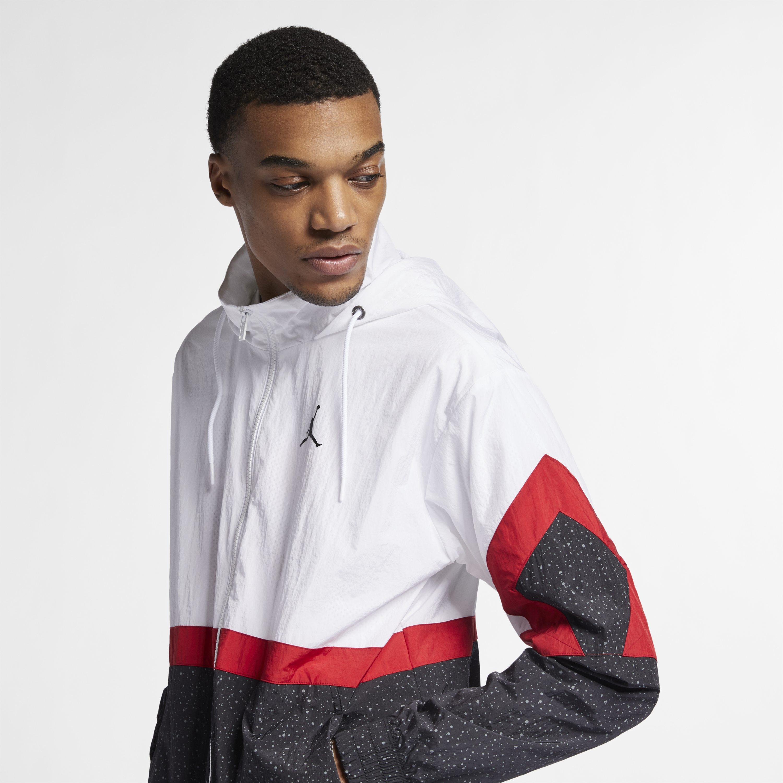 aaacd74b1f6070 Nike Jordan Diamond Cement Jacket in White for Men - Lyst
