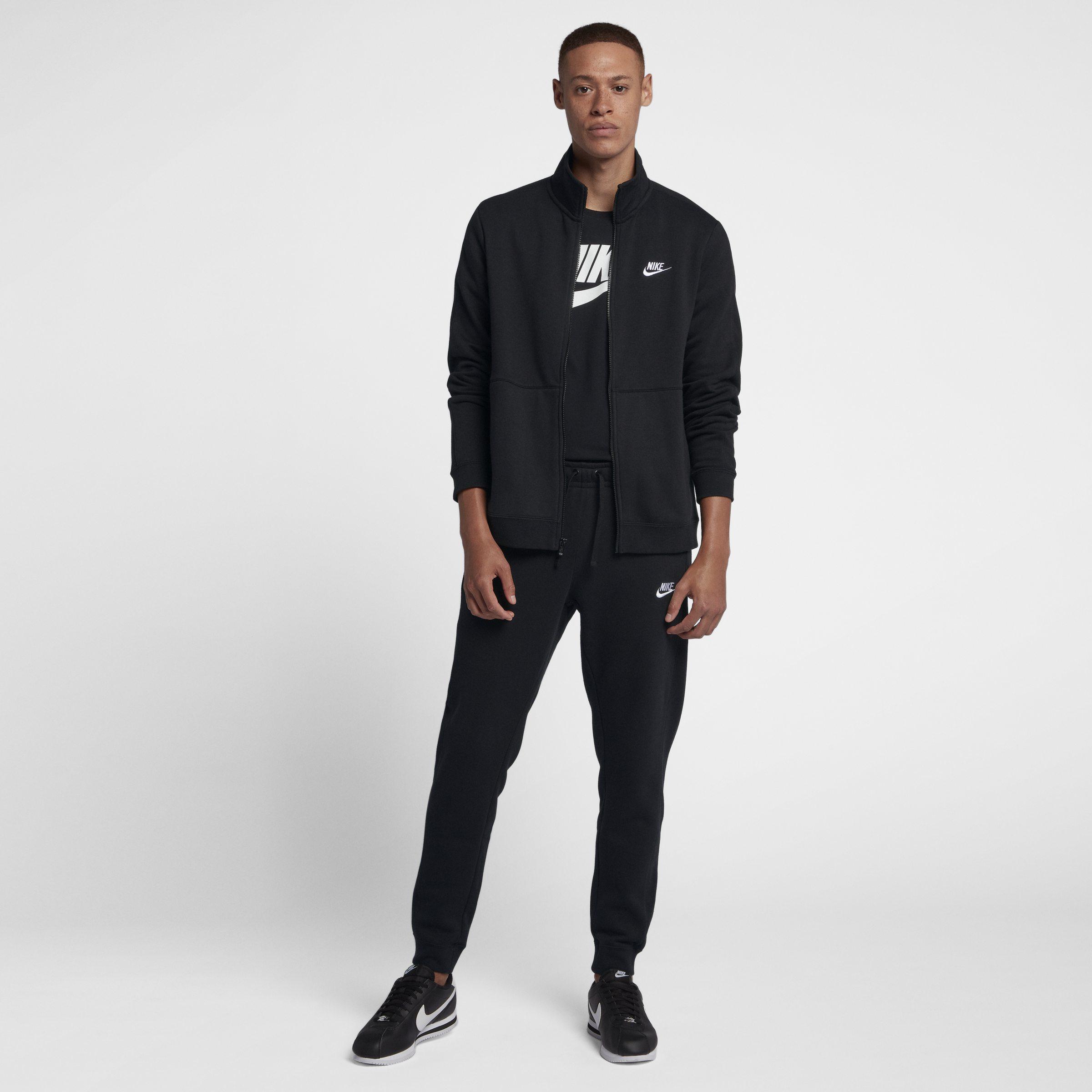 256fb04e1c51f9 Nike Sportswear Fleece Tracksuit in Black for Men - Lyst