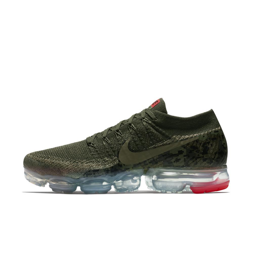 7b0271a202 Nike - Green Air Vapormax Flyknit Camo Men s Running Shoe for Men - Lyst