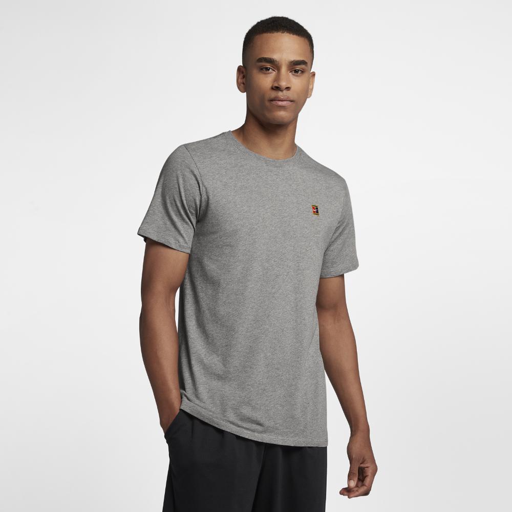 43ff2cd8 Lyst - Nike Court Heritage Men's T-shirt in Gray for Men