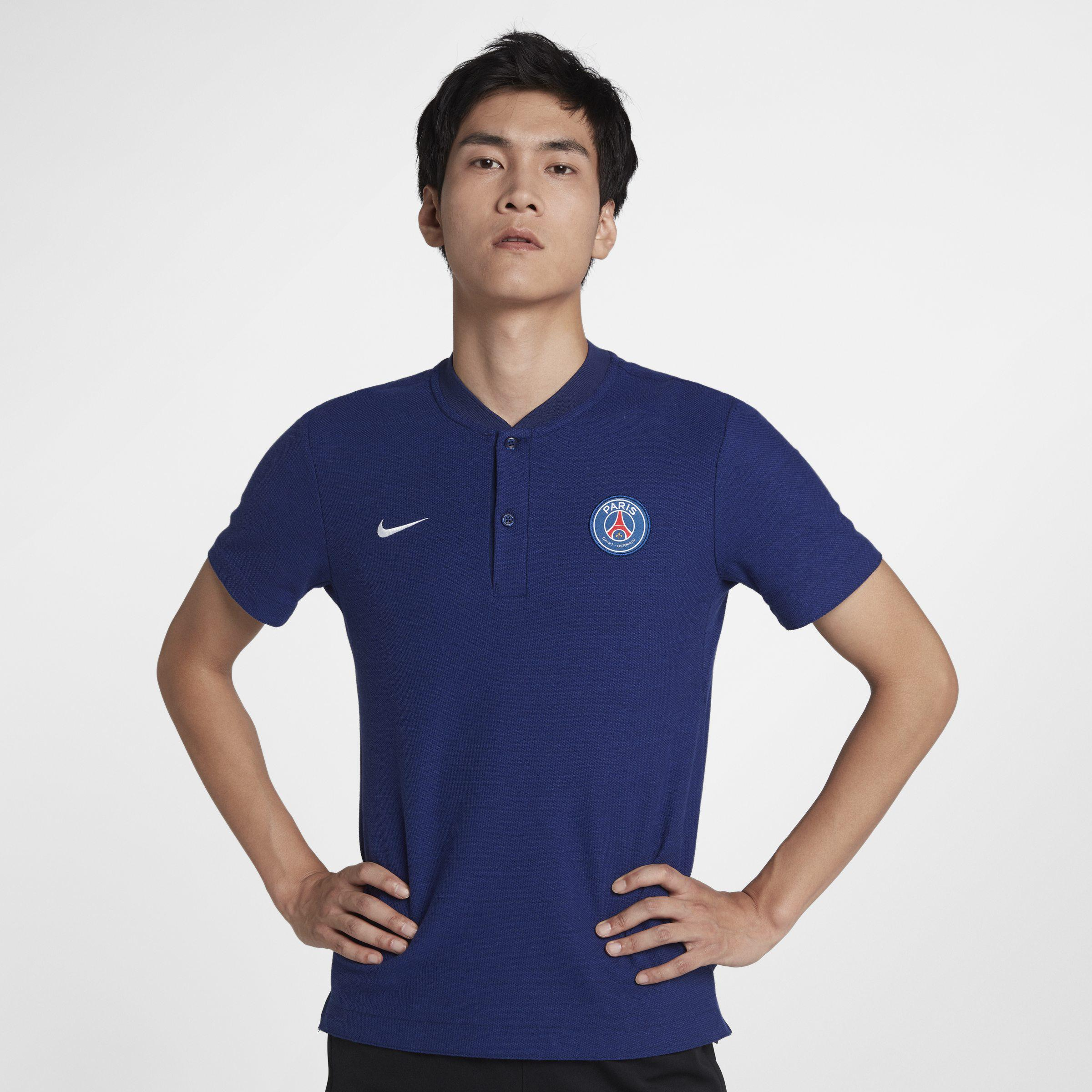 900d4b887dd9e Nike Paris Saint-germain Slam Men s Polo Shirt in Blue for Men ...