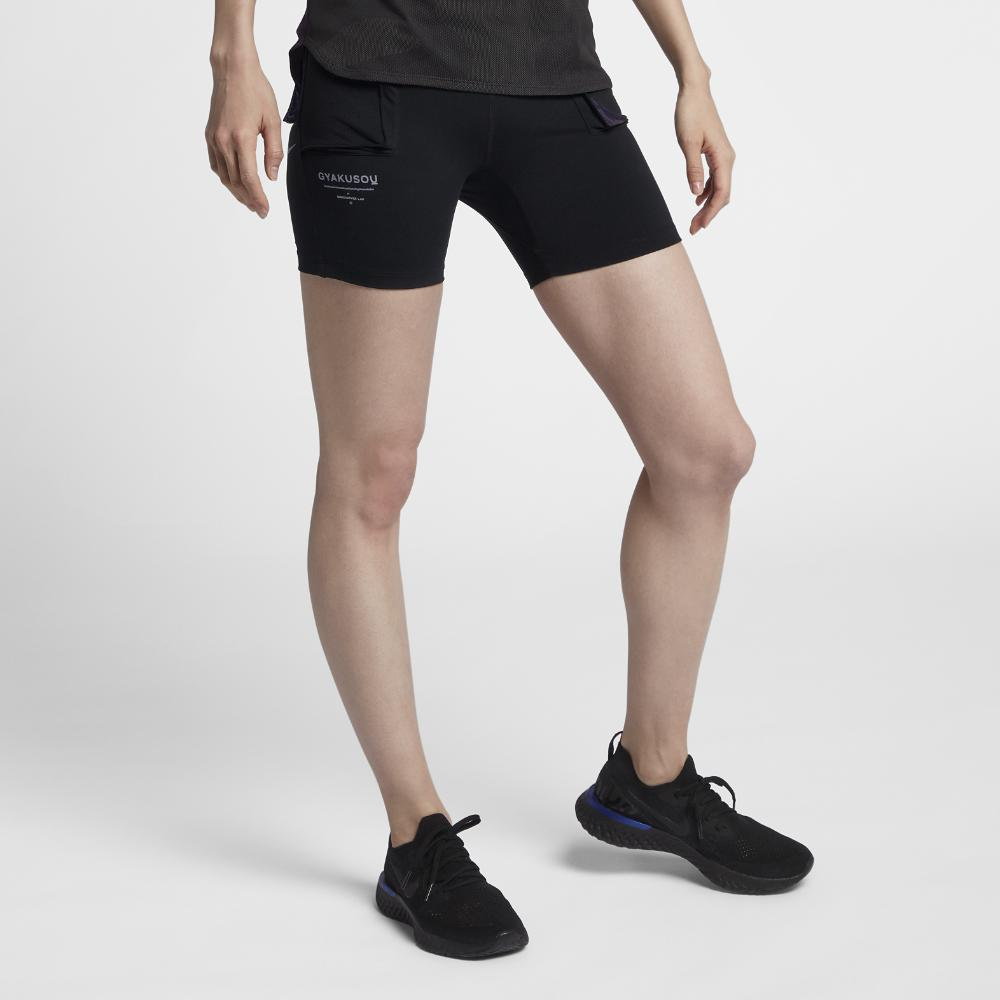 Lyst - Nike Gyakusou Women s Short Tights in Black 96c44a28f