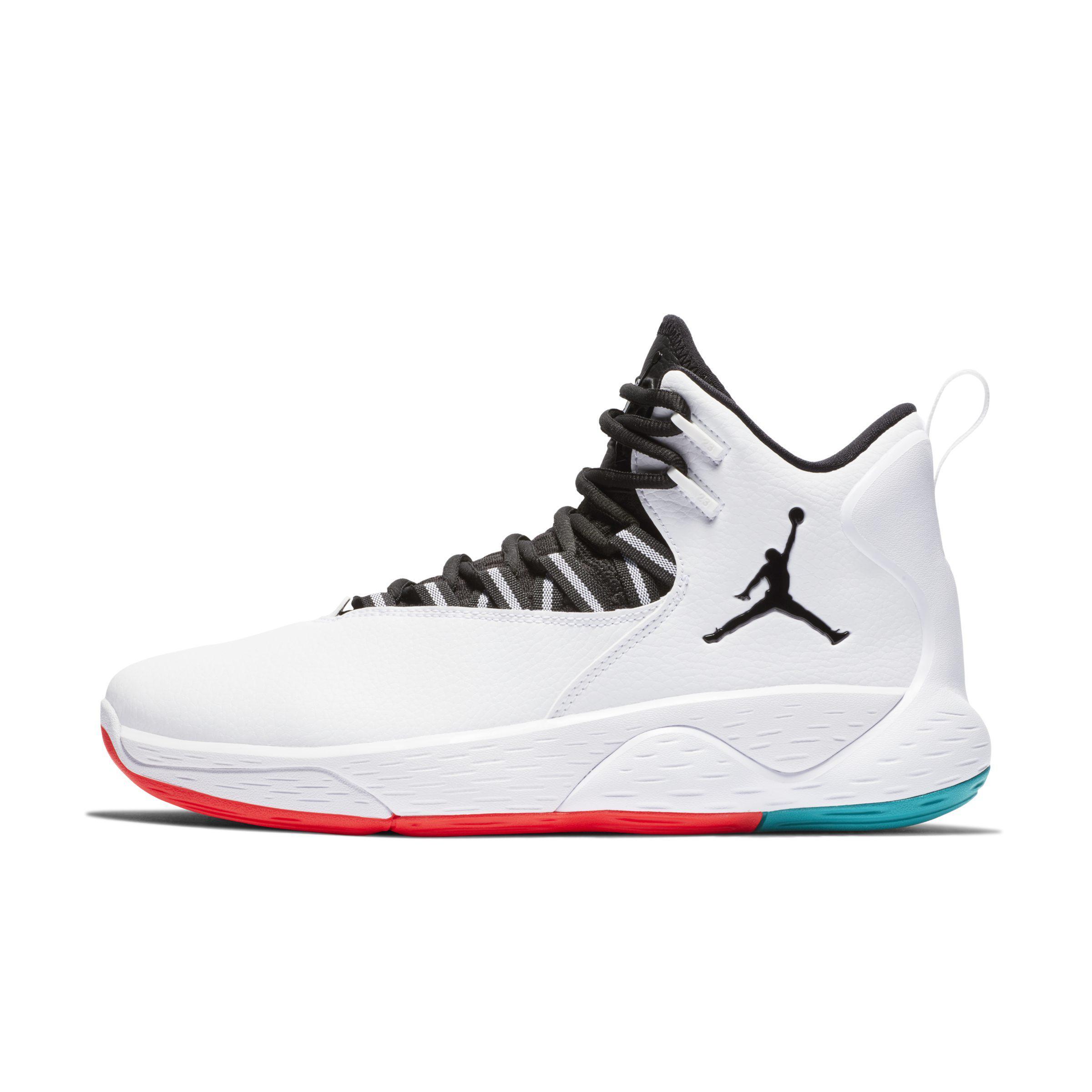 3ba8f07c464 Nike Jordan Super.fly Mvp Basketball Shoe in White for Men - Lyst