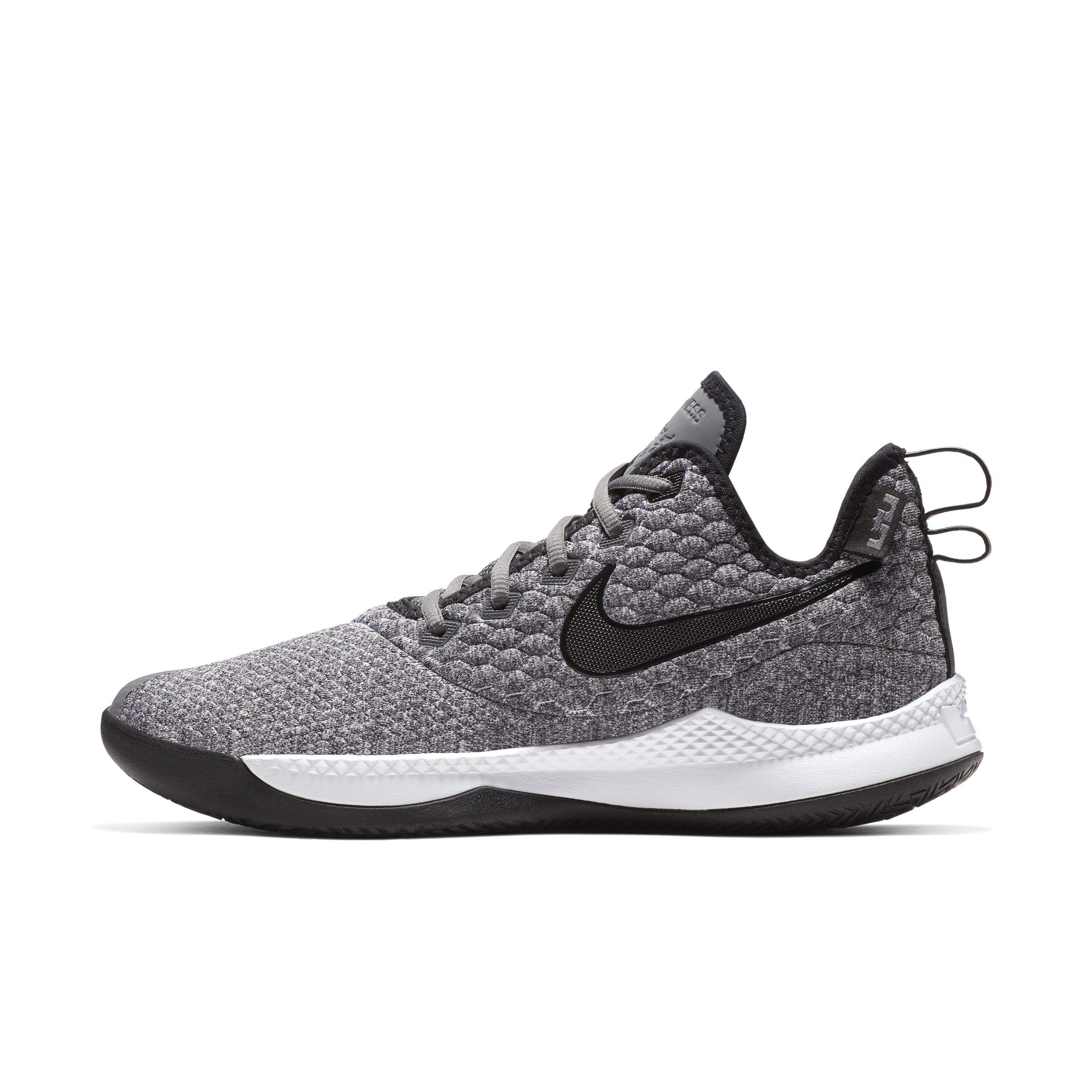 378addce0a8b Nike Lebron Witness Iii Basketball Shoes in Gray for Men - Lyst