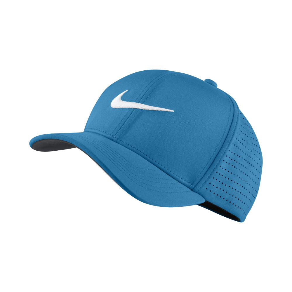 2923fb76 Lyst - Nike Aerobill Classic 99 Fitted Golf Hat in Blue for Men ...