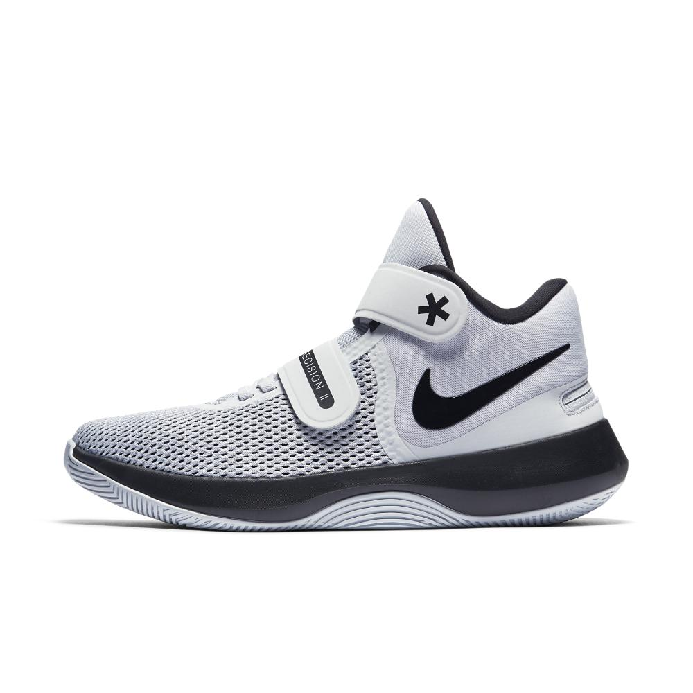 finest selection e0d42 b532d ... shop lyst nike basketball air precision ii flyease uomo basketball nike  scarpe in bianca 58a2ce d0d2f