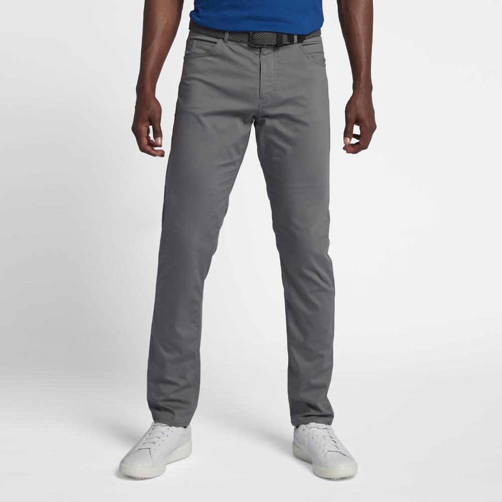 d281dbe09db Lyst - Nike Flex 5 Pocket Men s Slim Fit Golf Pants in Gray for Men