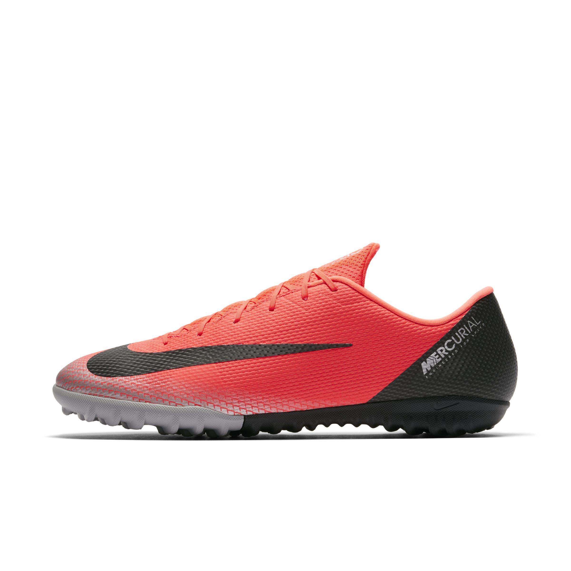 5053ca556 Nike Mercurialx Vapor Xii Academy Cr7 Turf Football Shoe in Red - Lyst