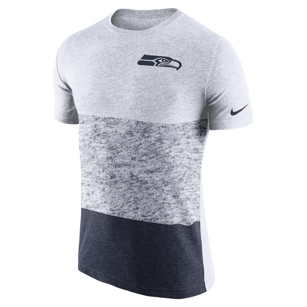 17ab439c5 Lyst - Nike Push Press Tri-blend (nfl Seahawks) Men s T-shirt in ...