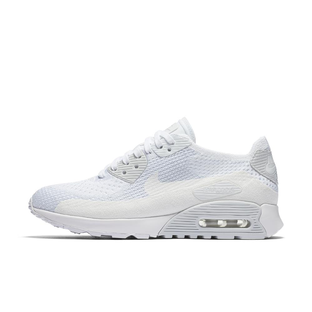 c34e532e3f6e Lyst - Nike Air Max 90 Ultra 2.0 Flyknit Women s Shoe in White