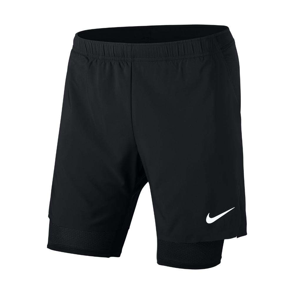 d28276b805a7 Lyst - Nike Court Flex Ace Tennis Short in Black for Men - Save 21%