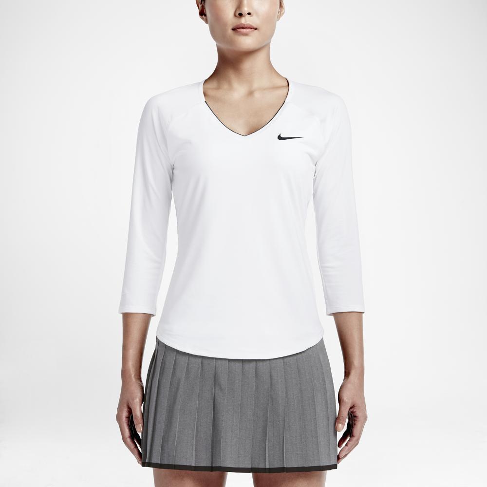 Nike. White Court Pure Women's Tennis Top