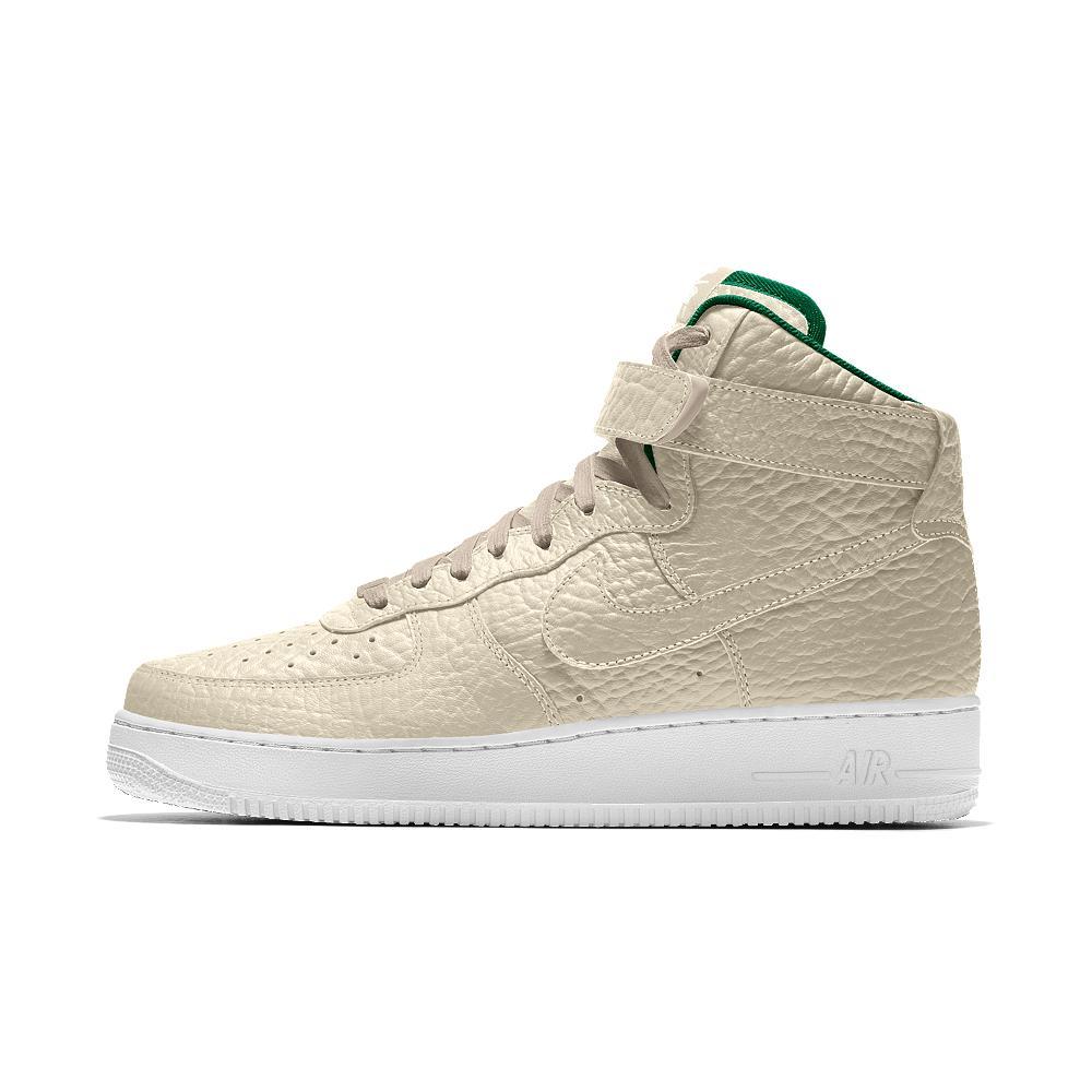 best service d178d 407b7 Nike Air Force 1 High Premium Id (milwaukee Bucks) Men s Shoe in ...