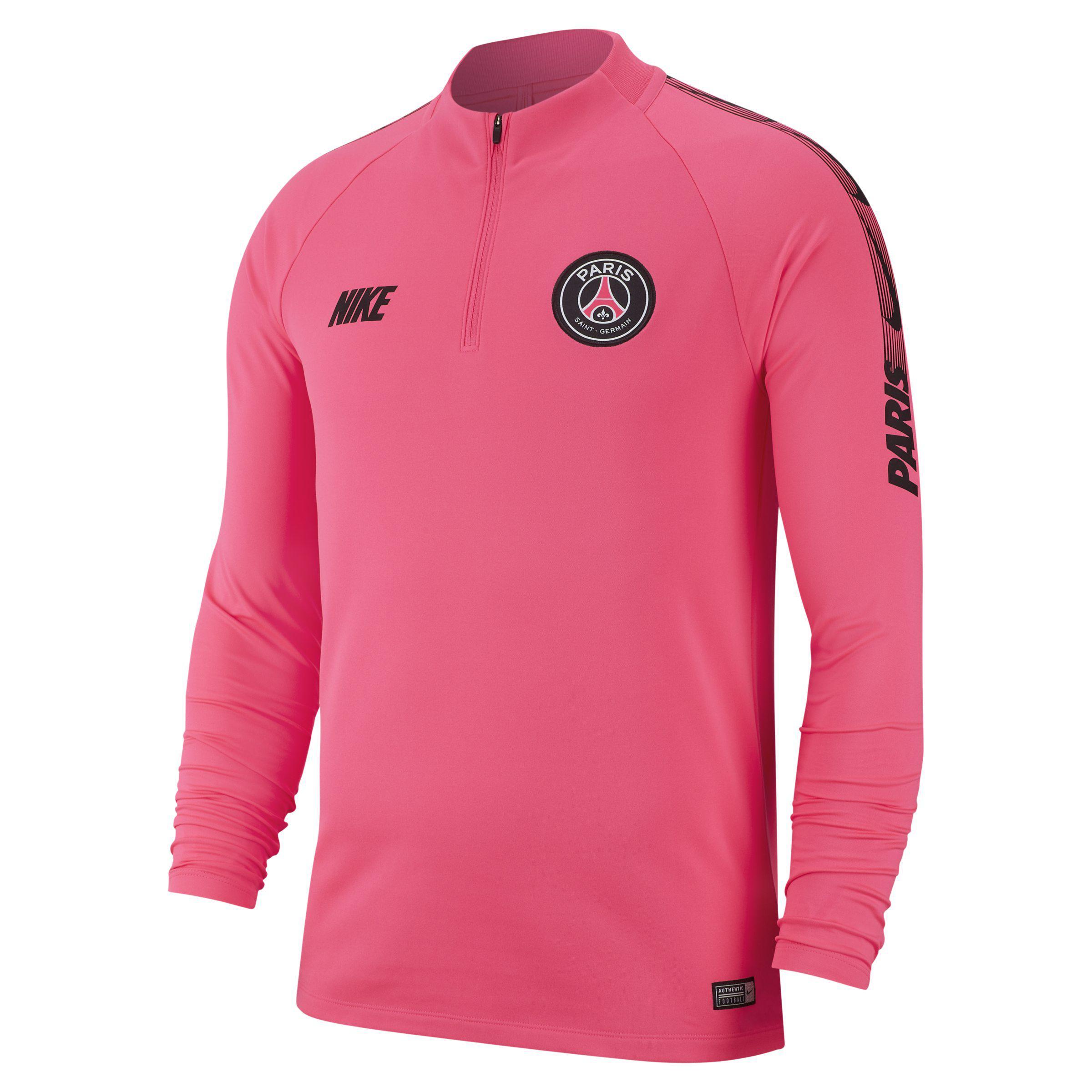755da52116877 Nike Paris Saint-germain Dri-fit Squad Drill Long-sleeve Football ...