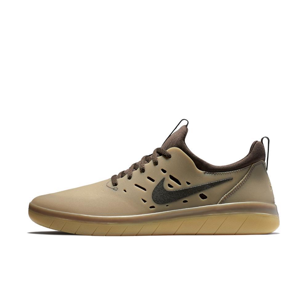 new product 53eae b1293 Nike - Brown Sb Nyjah Men s Skateboarding Shoe for Men - Lyst. View  fullscreen