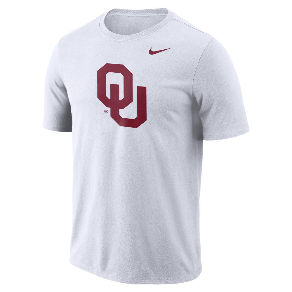 ab9c60338eee Lyst - Nike College Dri-fit Logo (oklahoma) Men s T-shirt in White ...