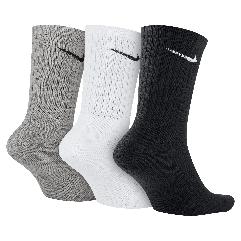 b35018f19f19 Nike - Multicolor Value Cotton Crew Socks (3 Pair) for Men - Lyst. View  fullscreen
