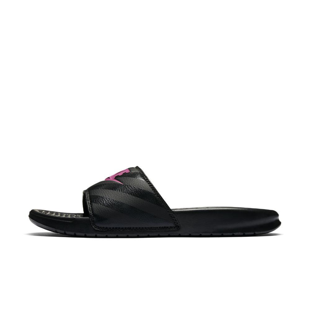 cfba5d576fb3 Lyst - Nike Benassi Women s Slide Sandal in Black