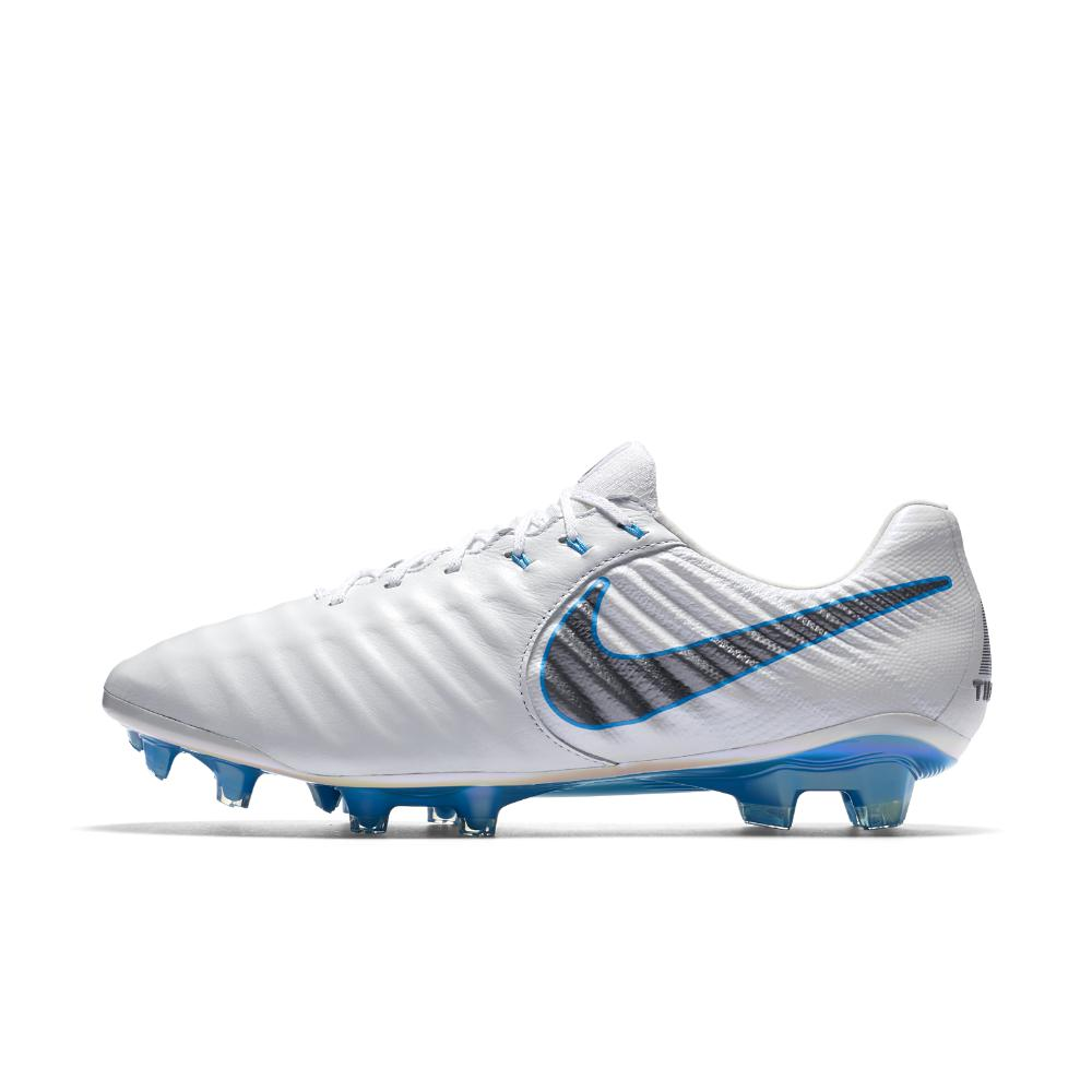 811141cf5f9 Nike. Men s Blue Tiempo Legend Vii Elite Just Do It Firm-ground Soccer  Cleats