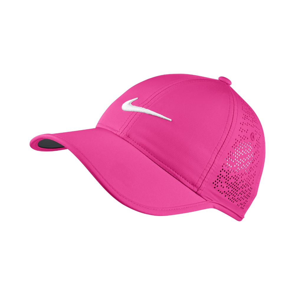 Lyst - Nike Perforated Women s Adjustable Golf Hat (pink) in Pink 844ac4b63c5