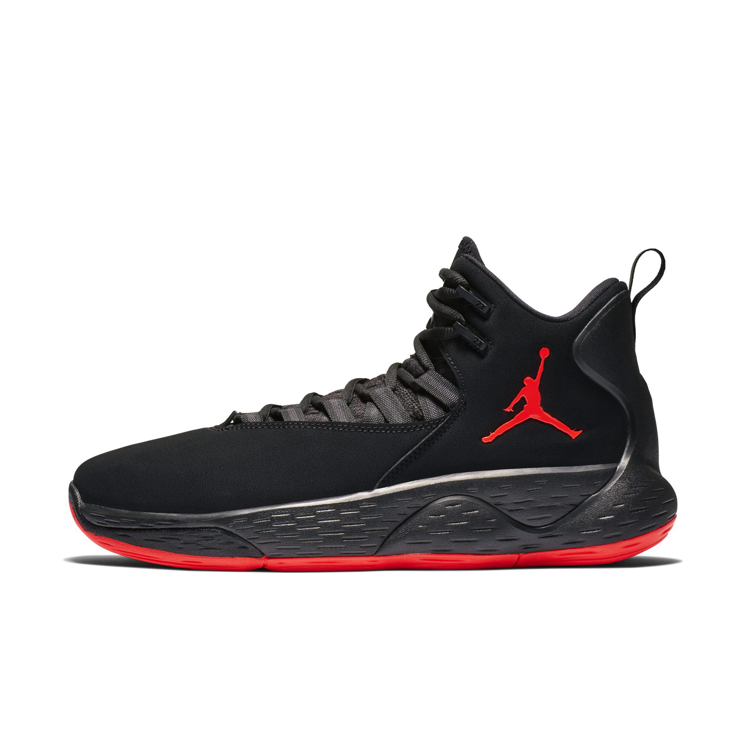 online store 62ba9 5088f Nike Jordan Super.fly Mvp Basketball Shoe in Black for Men - Lyst