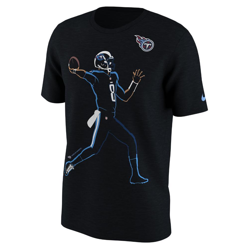Lyst - Nike Player Silhouette (nfl Titans   Marcus Mariota) Men s T ... 54effc1fe