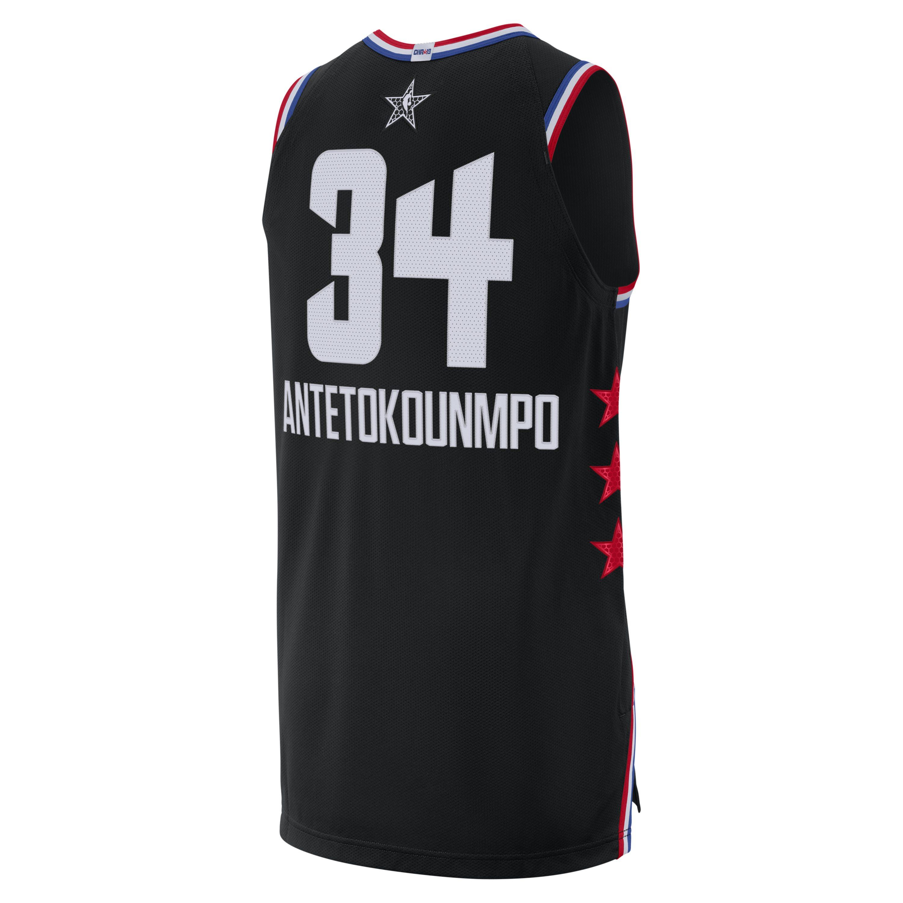 2953dab982fc38 Nike - Black Giannis Antetokounmpo All-star Edition Authentic Jordan Nba  Connected Jersey for Men. View fullscreen