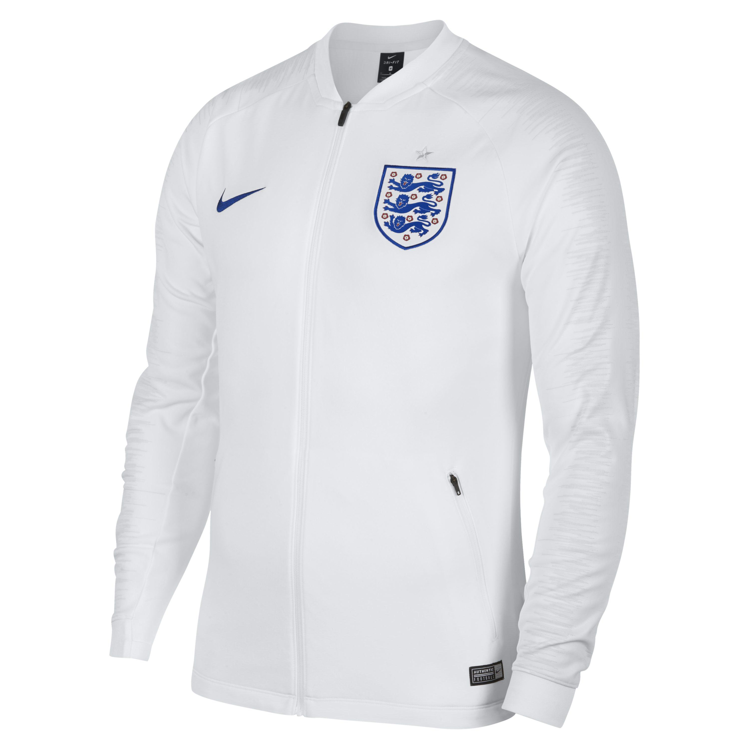 aaaf79e1c Nike England Anthem Football Jacket in White for Men - Lyst
