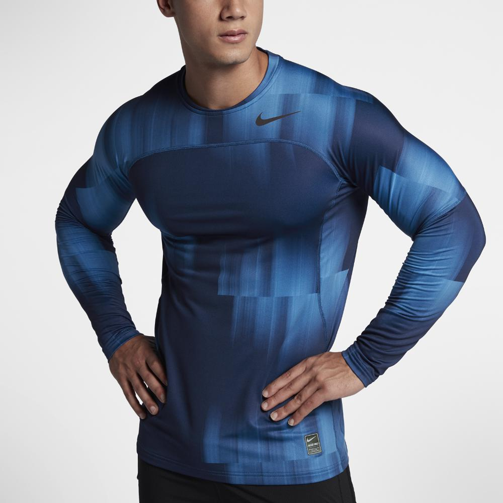 8b626035 Nike Pro Hyperwarm Mens Long Sleeve Shirt