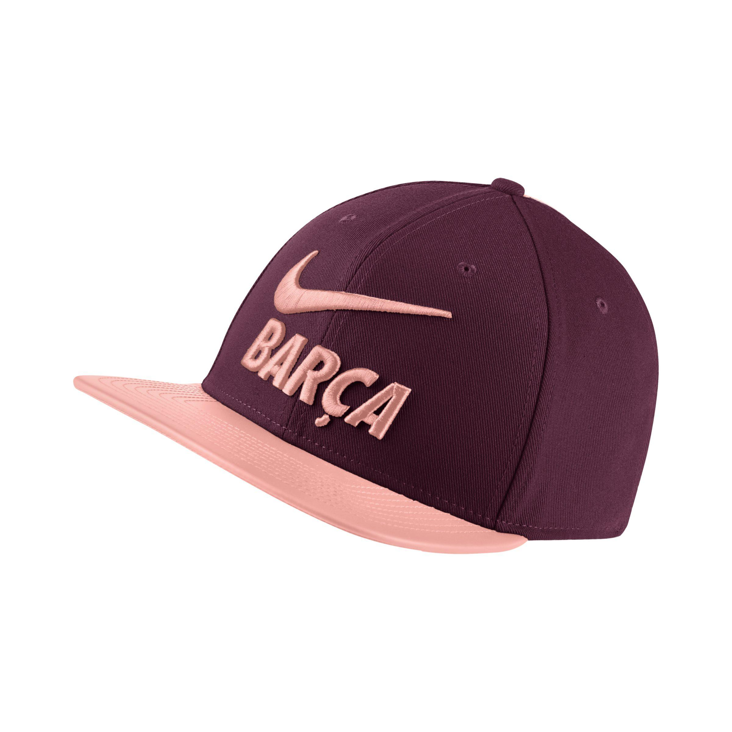 38d20dad9452db Nike Fc Barcelona Adjustable Hat in Red - Lyst