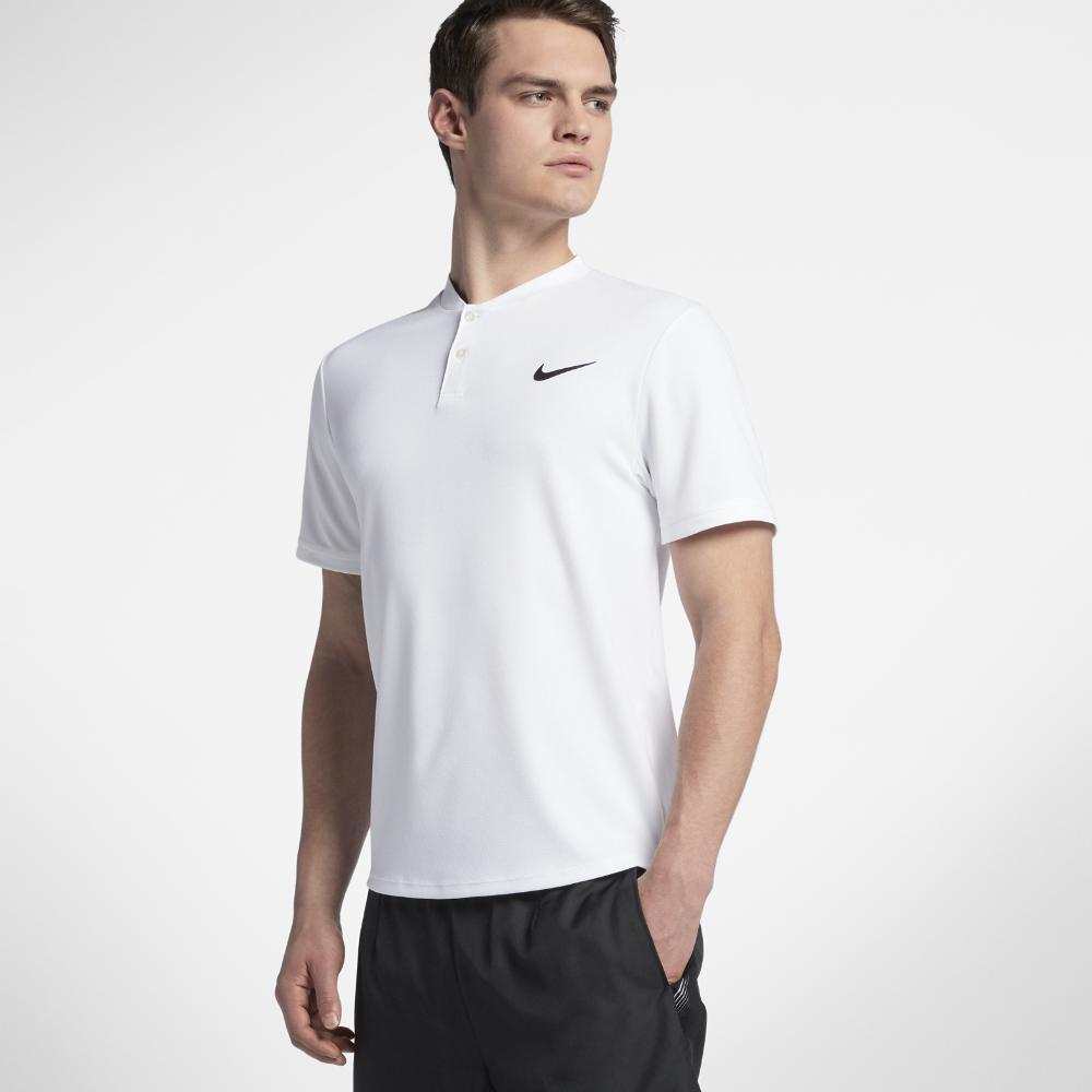 d583f66f0 Lyst - Nike Court Dri-fit Advantage Men s Tennis Polo Shirt in White ...