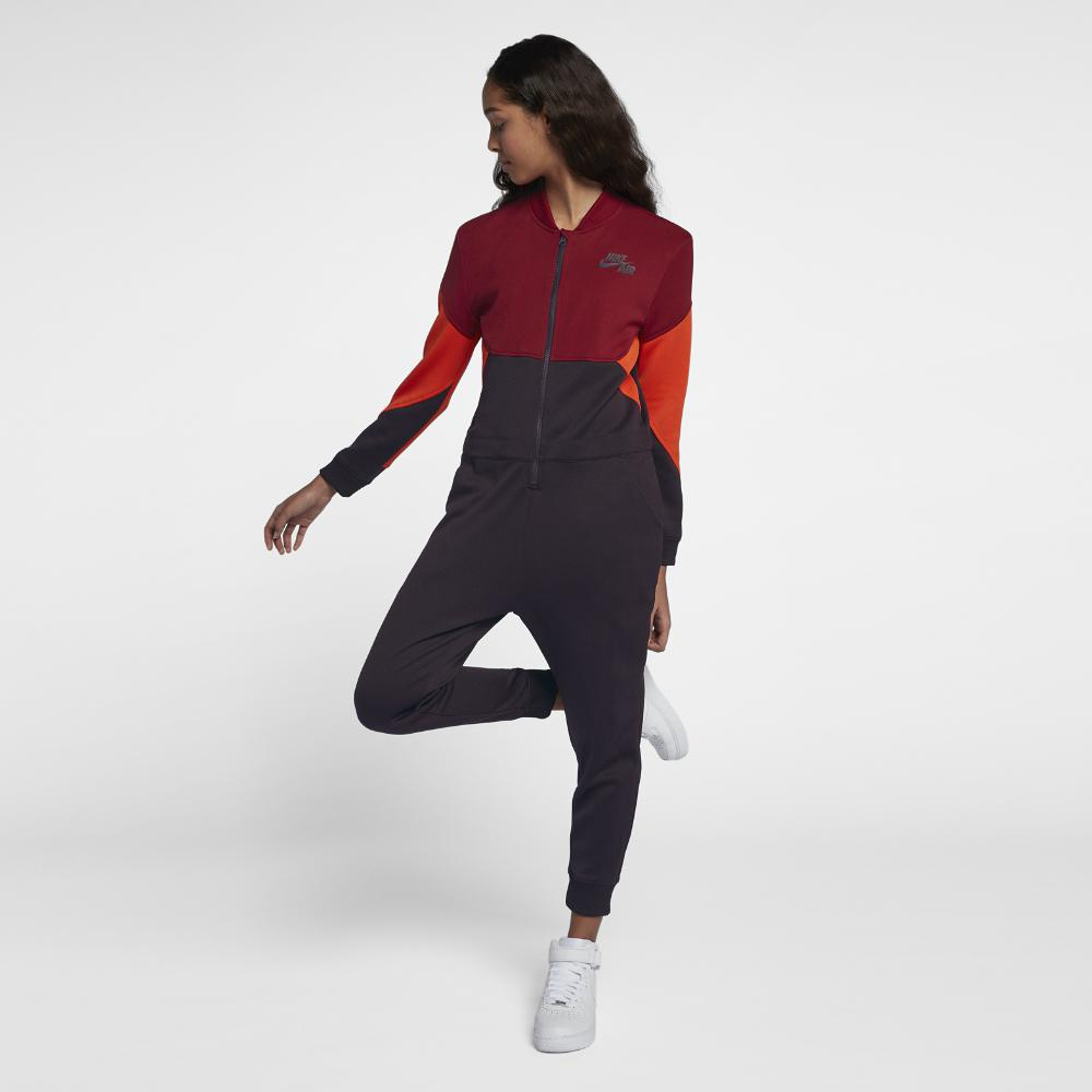 Nike. Red Air Women's Jumpsuit