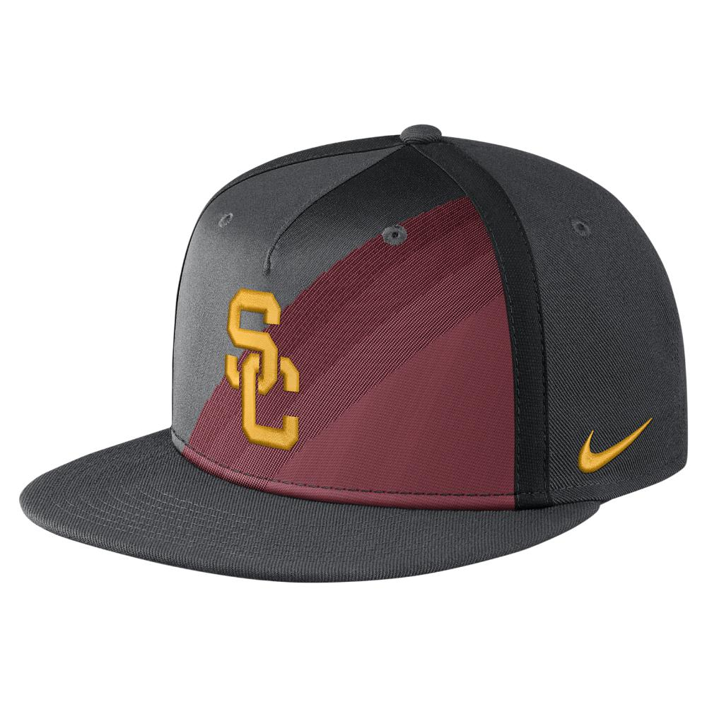 a22e9ad0c0d Lyst - Nike College True Champ (usc) Adjustable Hat (black) for Men