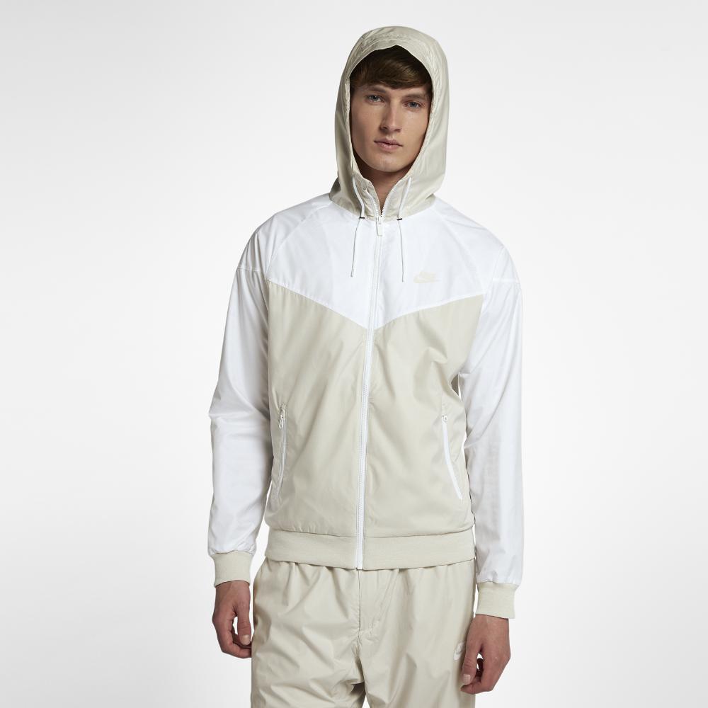 bdbb1e046c28 Lyst - Nike Sportswear Windrunner Men s Jacket in White for Men