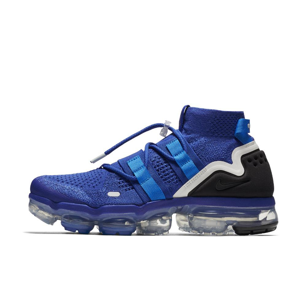 9179fb5a0188 Lyst - Nike Air Vapormax Flyknit Utility Running Shoe in Blue for Men