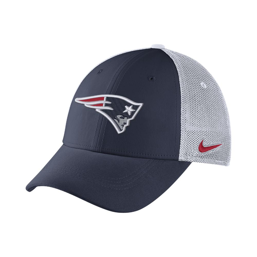 d12dd10c3 Lyst - Nike Color Rush Swoosh Flex (nfl Patriots) Fitted Hat in Blue ...
