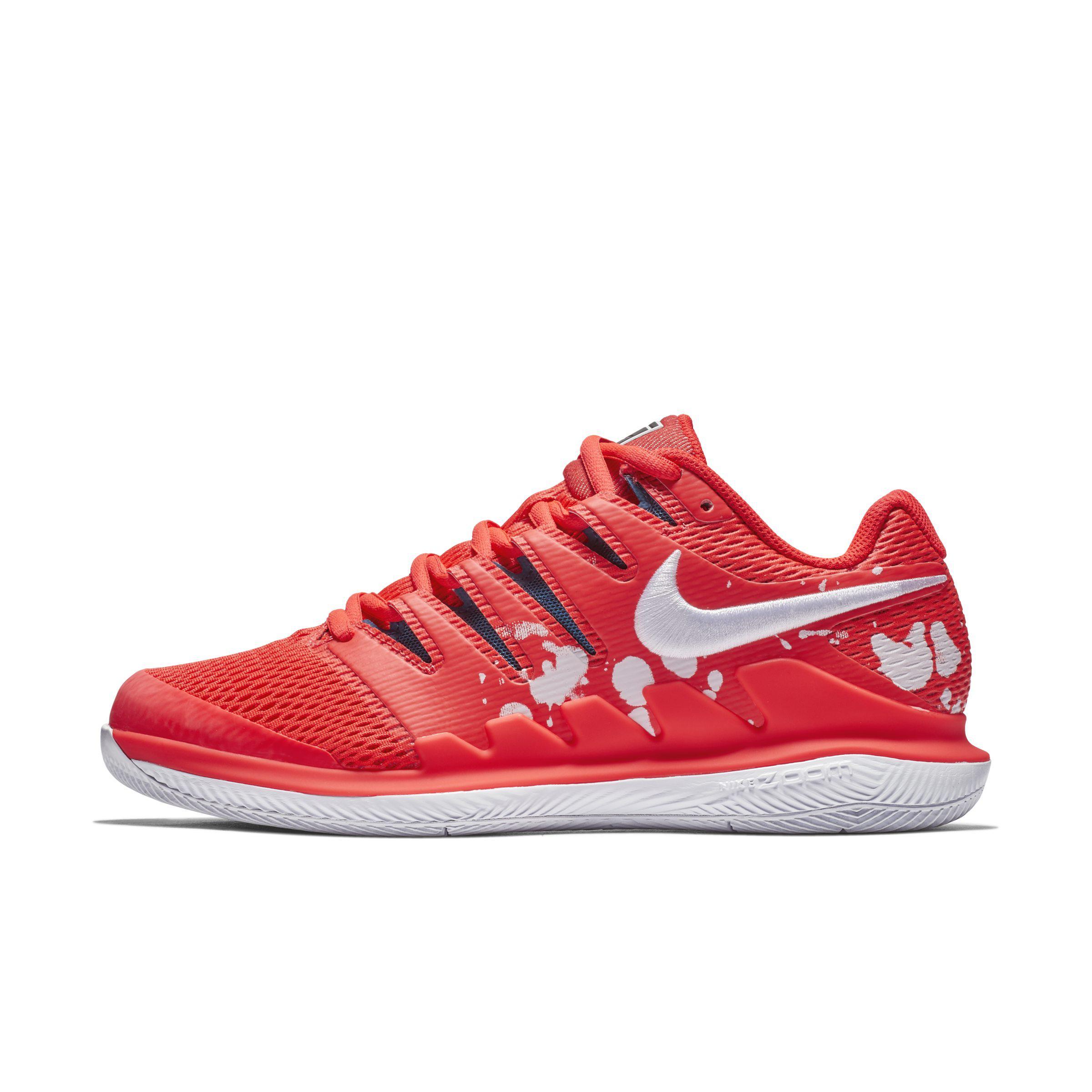 Nike Court Air Zoom Vapor X Hard Court Tennis Shoe in Red - Lyst c527cc070