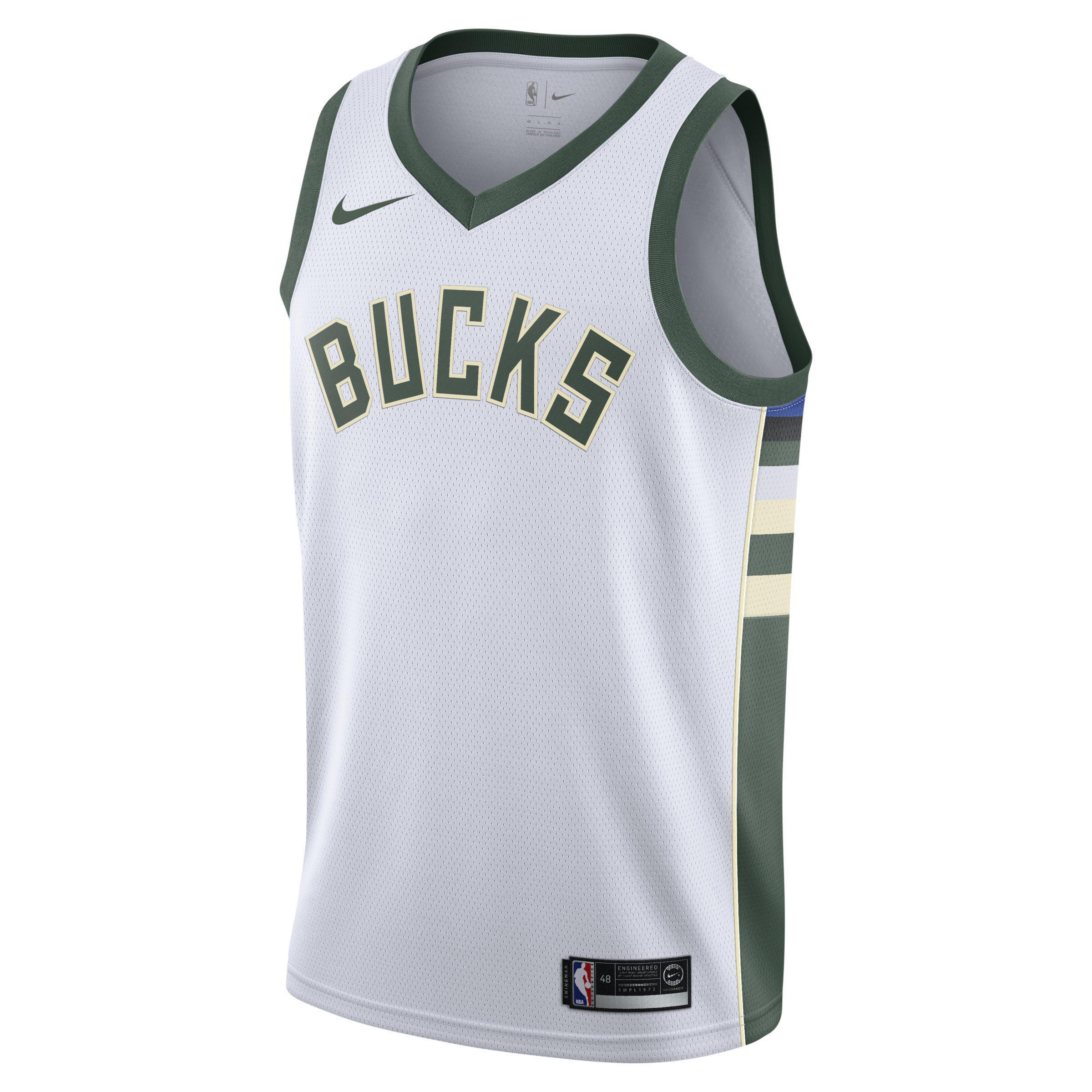 9e4c2e659239 Nike Association Edition Swingman Jersey (milwaukee Bucks) Nba ...
